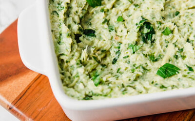 Paleo Spinach & Artichoke Dip (AIP & Whole30)