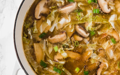 Easy Paleo Hot & Sour Soup (Whole30 & AIP)