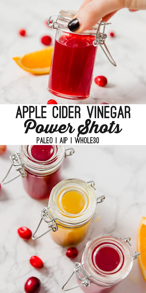 DIY Apple Cider Vinegar Power Shots