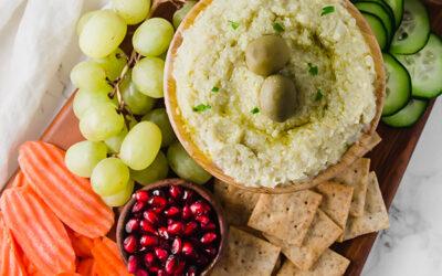 Paleo Charcuterie Board with Artichoke Hummus (AIP & Whole30)