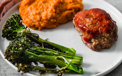 Whole30 One-Pan Meatloaf Dinner (Paleo, AIP)