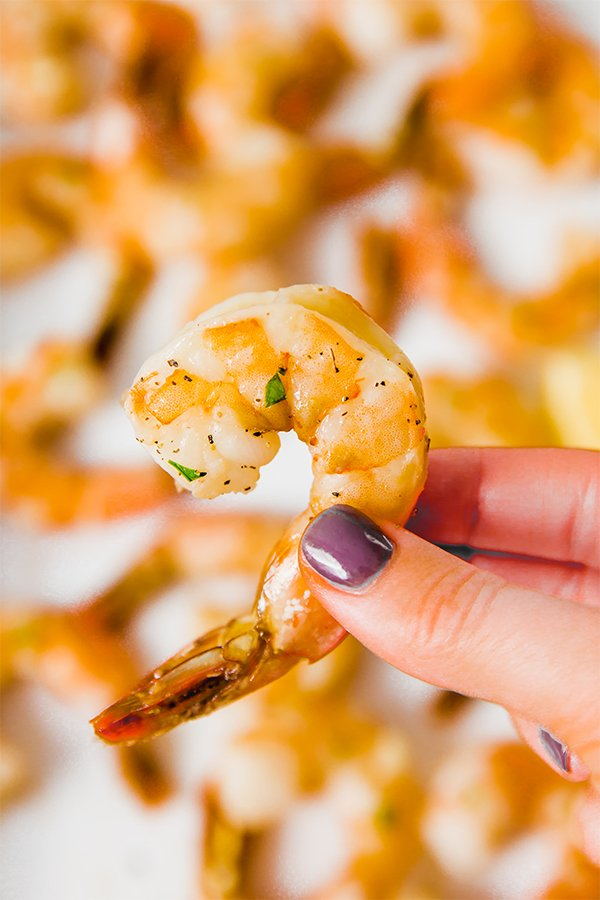 Lemon Baked shrimp