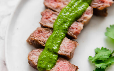 Whole30 Steak with Chimichurri (Paleo & AIP)