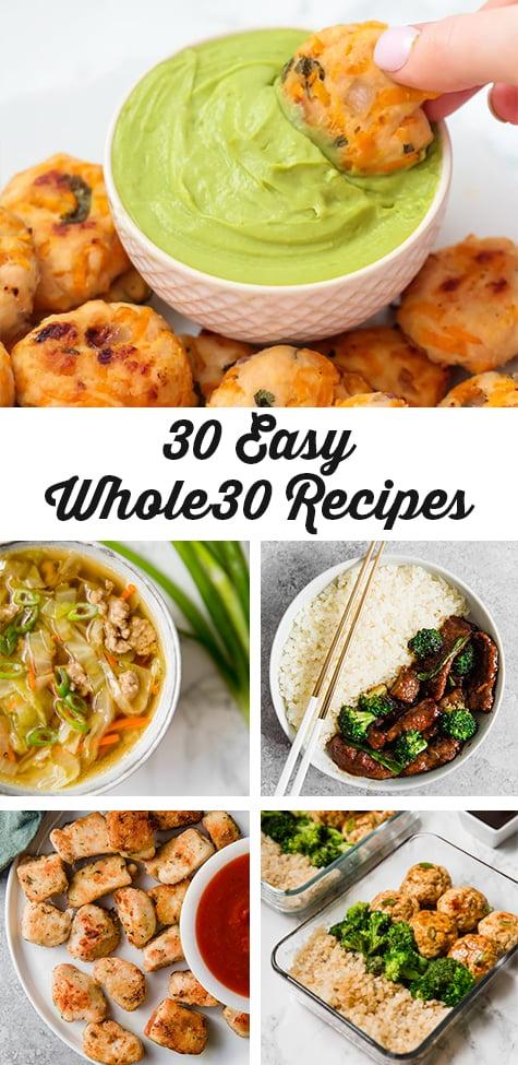 30 Easy Whole30 Recipes