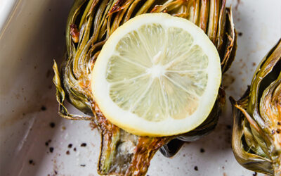 How to Bake (& Eat) Artichokes (Whole30, Paleo, AIP)