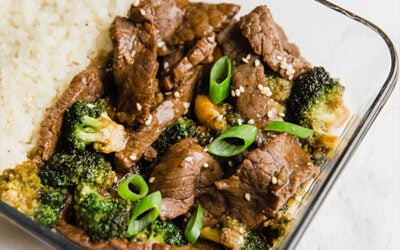Healthy Beef & Broccoli Meal Prep (Paleo, Whole30, AIP)