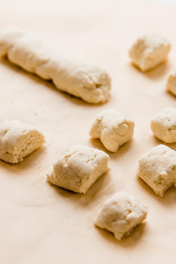 Gnocchi in process