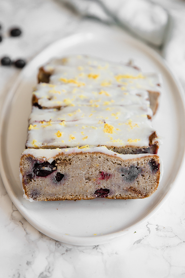 lemon blueberry banana bread