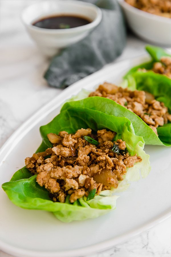 Pf Chang's lettuce wraps