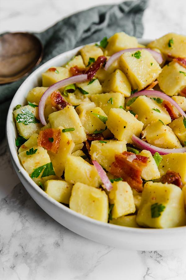 no mayo potato salad