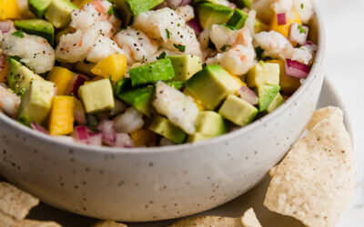Mango Shrimp Ceviche (Paleo, Whole30, AIP)