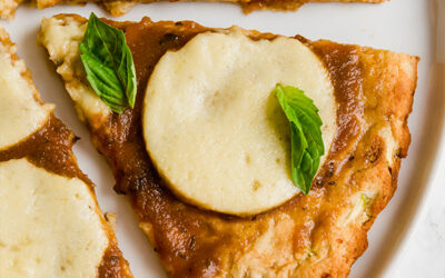 Zucchini Pizza Crust (Gluten Free, Paleo, AIP)