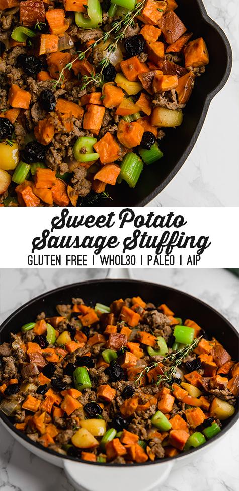 Sweet Potato Sausage Stuffing