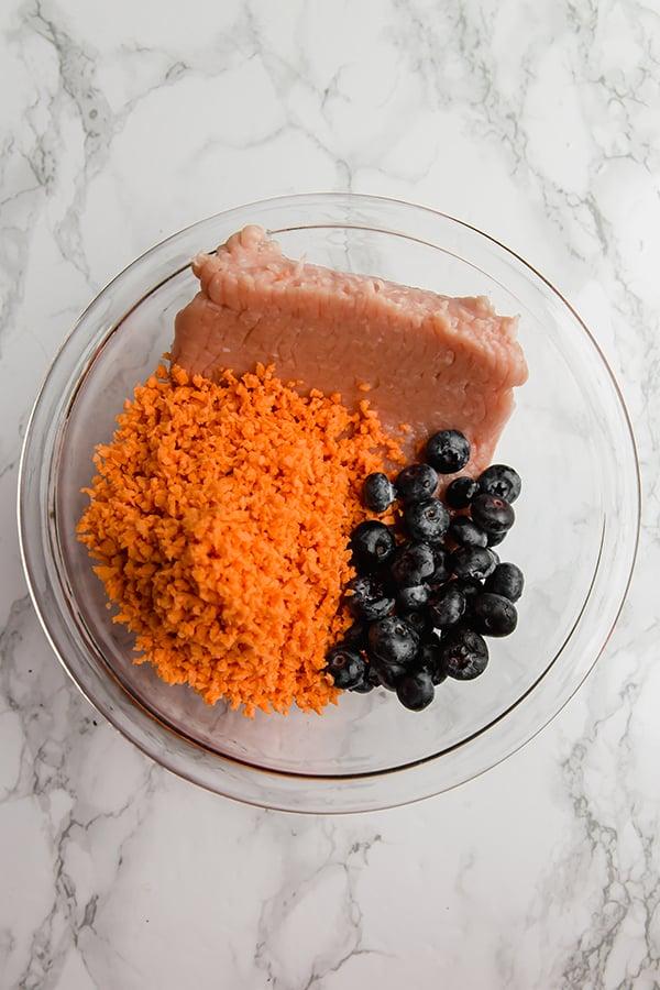 Sweet Potato Sausage Ingredients