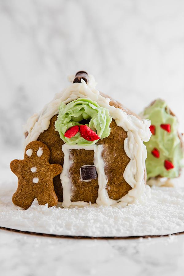 Paleo Gingerbread House