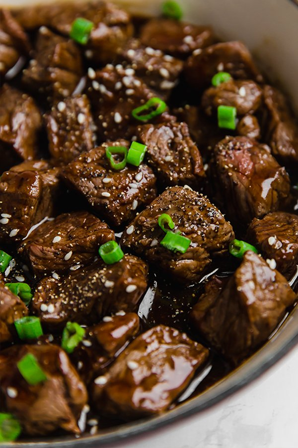 teriyaki steak bites