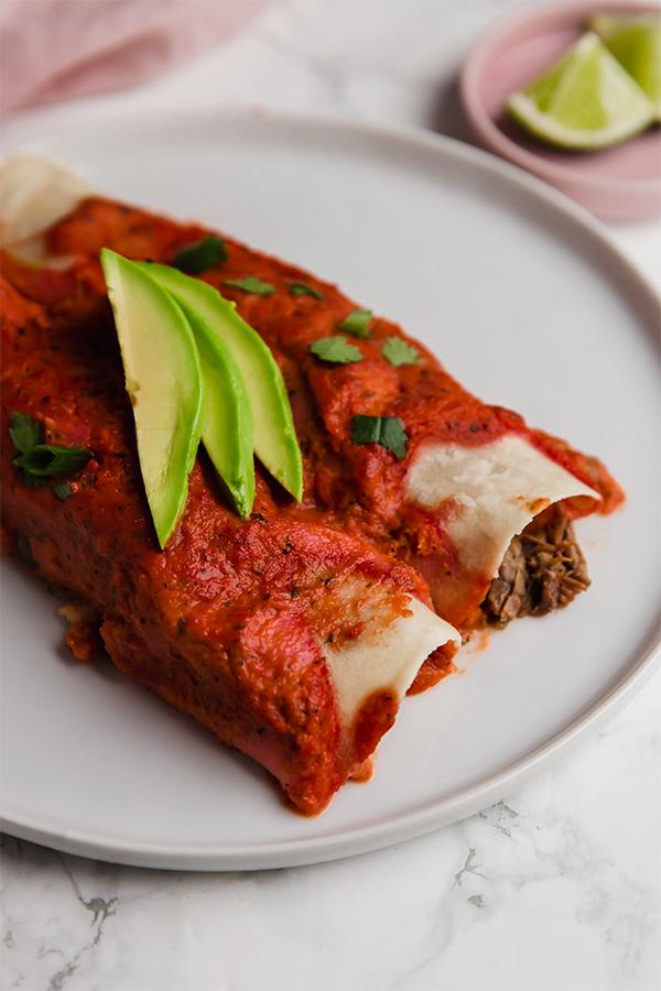Paleo Beef Enchiladas