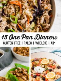 15 Easy One Pan Dinners