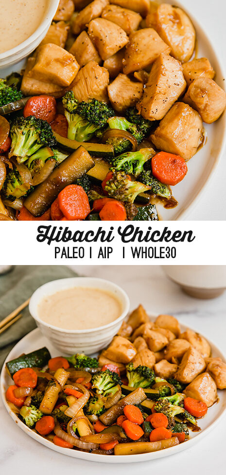 Homemade Hibachi Chicken