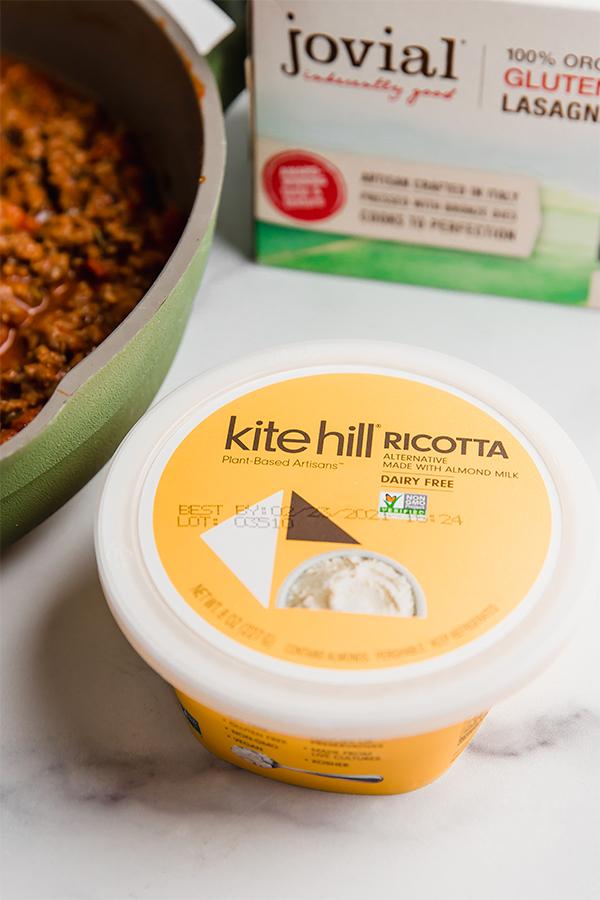 kite hill dairy free ricotta cheese