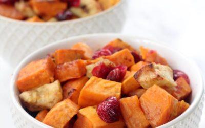 Roasted Cinnamon Sweet Potatoes & Apples